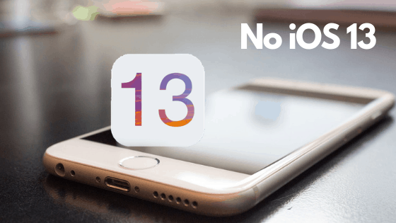 No iOS 13 for iPhone 5s,6 and 6 Plus Here's Why