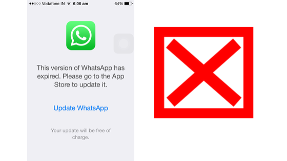Why No WhatsApp for iOS 8?