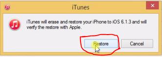 Click to Restore