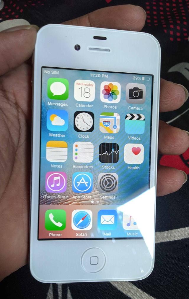 iOS 9 on Hand