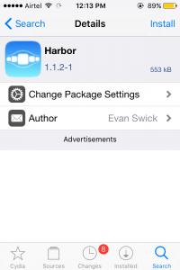 Harbor Tweak