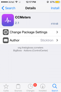 CCMeters Tweak