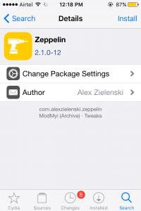 Zeppelin Tweak