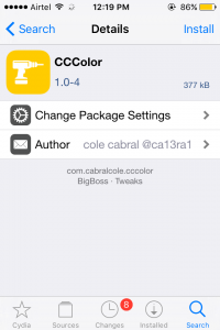 CCcolor Tweak