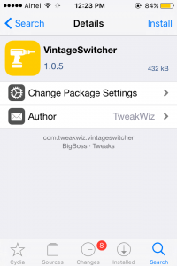 Vintage Switcher Tweak