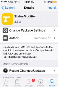 statusModifier Tweak
