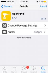 Flash Ring Tweak