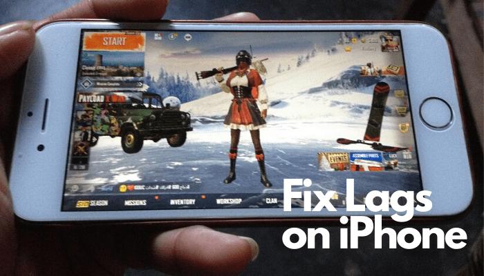 Fix PUBG Lag in iPhone