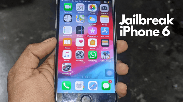 jailbreak iPhone 6 iOS 12