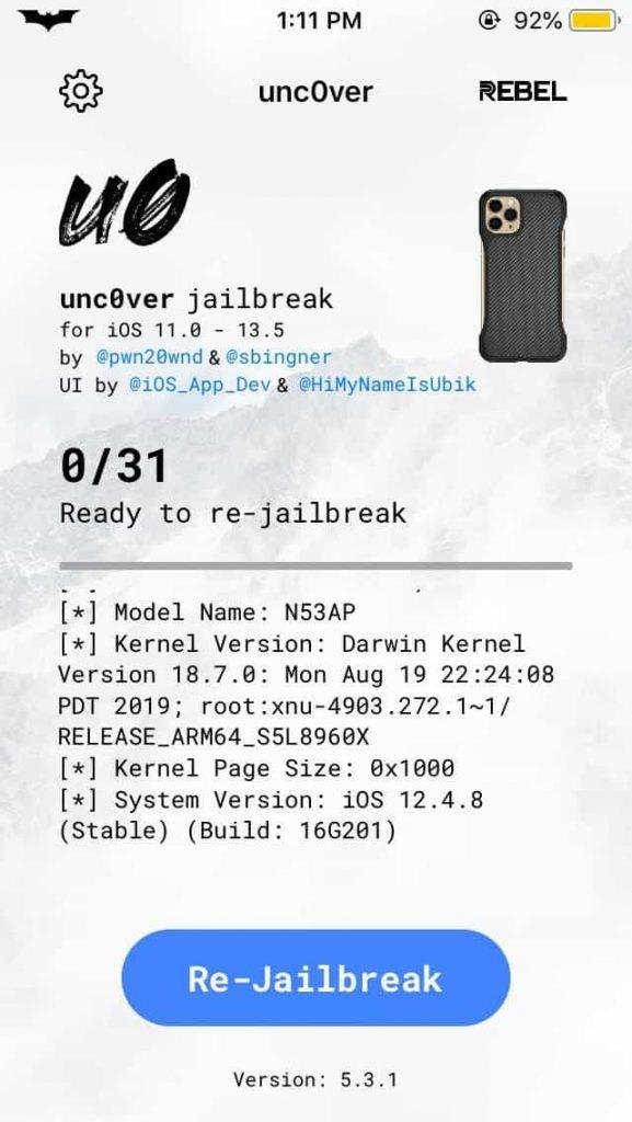 Jailbreak iOS 12.4.8