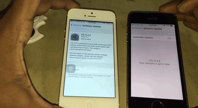 iPhone 5 iOS 10 vs iPhone 5s iOS 12
