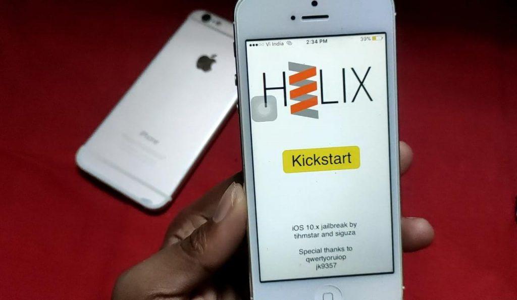 Kickstart Jailbreak iOS 10.3.4