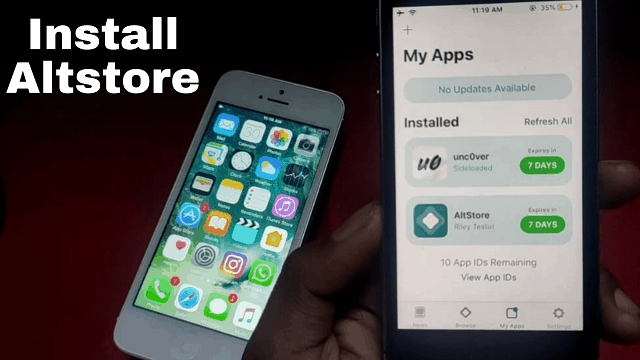 How to Install AltStore iOS 12-14.5 into your iPhone